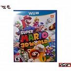[Wii U] SUPER MARIO 3D WORLD 북미판 중고A급