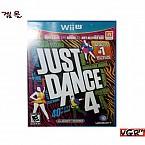 [Wii U] JUST DANCE 4 북미판 중고A급