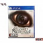 [PS4] 클로즈드 나이트메어 한글 정식발매판 중고A급