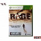 [XBOX360] 레이지 RAGE 정식발매판 중고 A급