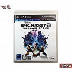 [PS3] 에픽 미키 2 정식발매판 중고A급