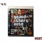 [PS3] GTA 4 (중고A급)북미판)