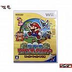 [Wii] 슈퍼 페이퍼 마리오 일판 중고A급