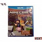 [Wii U] 마인크래프트 Wii U 에디션 일판 중고A급