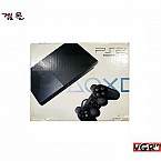 [PS2] PS2 미니 SCPH-90005 블랙 박스셋   (중고)(정발)