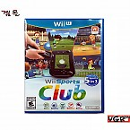 [Wii U] Wii 스포츠 클럽 북미판 중고A급