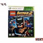 [XBOX360] 레고 배트맨 2 DC 슈퍼 히어로즈 정식발매판 중고A급