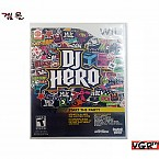 [Wii] DJ HERO 디제이 히어로 북미판 중고상품 상태 A급
