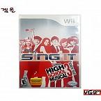 [Wii] 디즈니 SING IT 시니어 북미판 중고상품 상태 A급