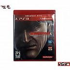[PS3] 메탈 기어 솔리드 4 그레이트 히트판 (중고A급)(북미판)