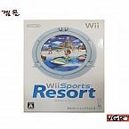 [Wii] 위 스포츠 리조트 모션 컨트롤러 포함 일판 중고A급