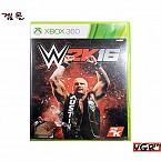 [XBOX360] WWE 2K16 북미판 중고