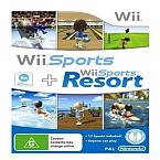 [WII] WII 스포츠+WII스포츠 리조트 유럽판 중고상품